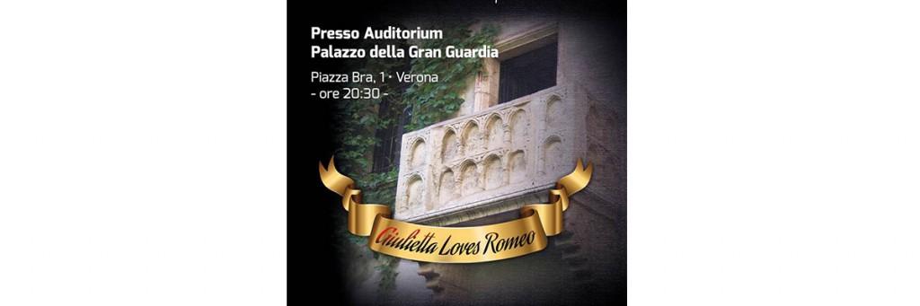 """Il concorso canoro pop e lirico """"Giulietta loves Romeo"""""""