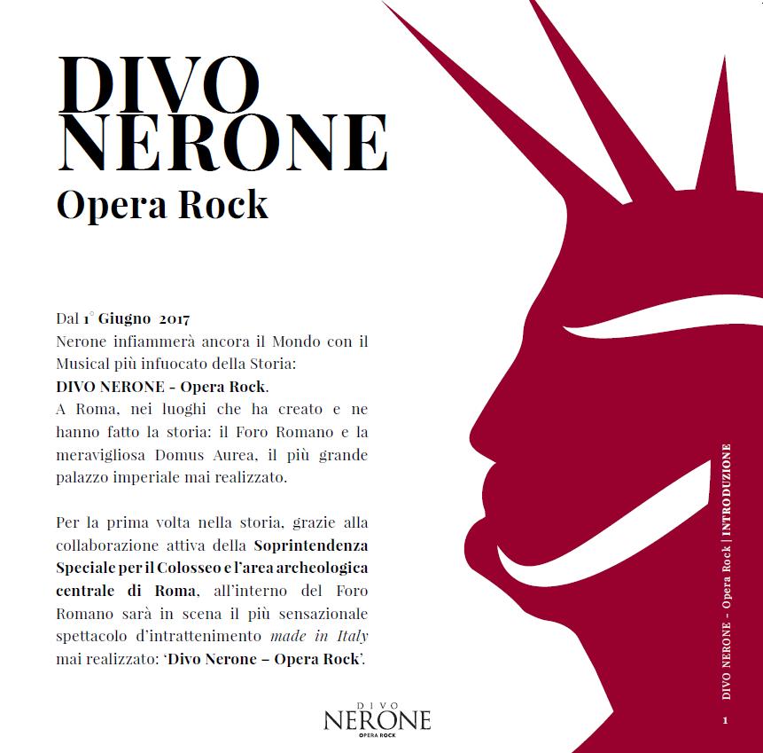 Divo nerone opera rock associazione fonografici italiani - Divo nerone youtube ...