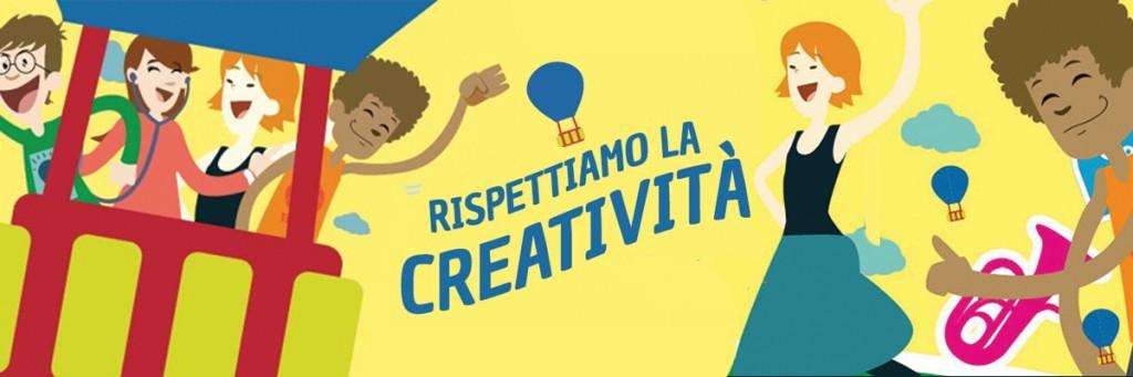Grande successo nelle scuole per la campagna educativa Rispettiamo la Creatività