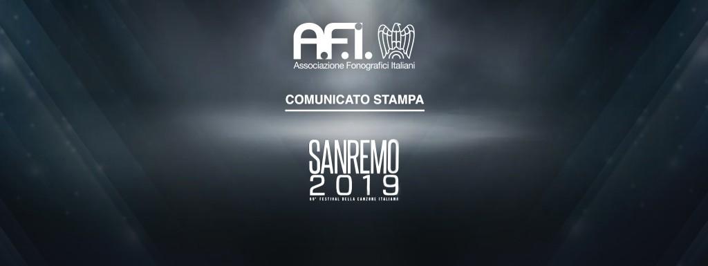 """AFI su Sanremo 2019: """"Il Nuovo Contest Dedicato Ai Giovani È Una Scelta Coraggiosa"""""""