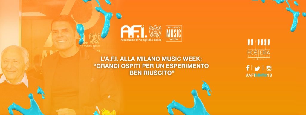 "A.F.I. AT THE MILAN MUSIC WEEK: ""GREAT GUESTS FOR A WELL-KNOWN EXPERIENCE"""