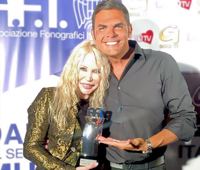 """Minturno Music Festival"": AFI Award for Ivana Spagna"