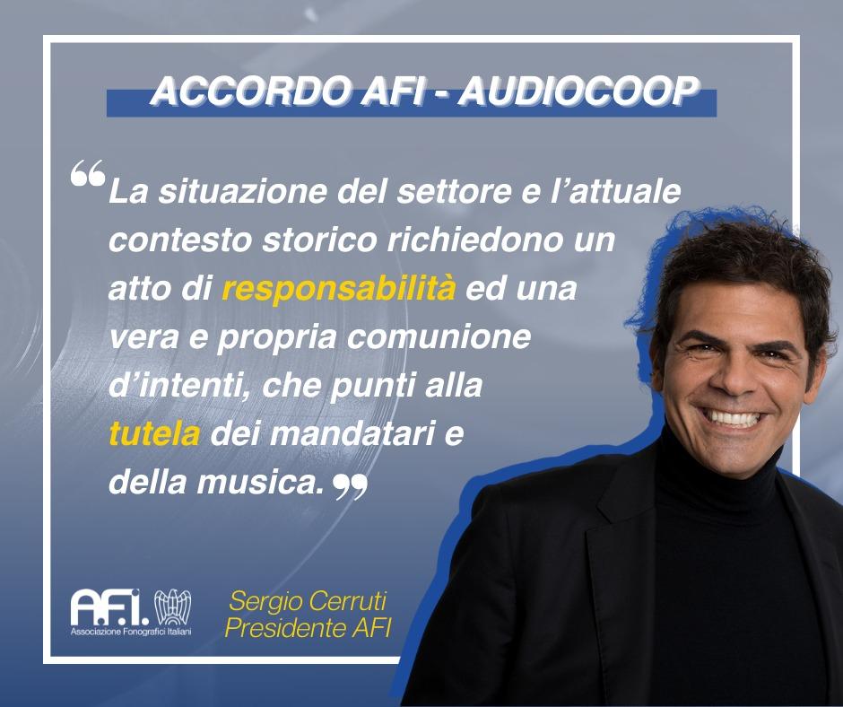 ACCORDO AFI – AUDIOCOOP