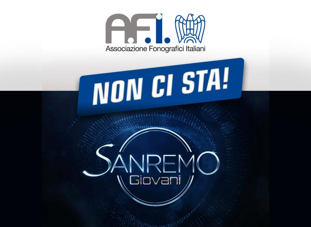 """Regolamento Sanremo Giovani 2021: """"L'AFI non ci sta"""""""